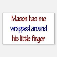 Mason Has You Rectangle Decal