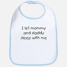 Mommy and Daddy Bib