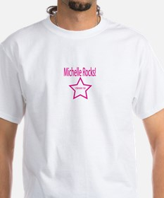 Michelle Rocks: Pink Shirt