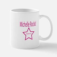 Michelle Rocks: Blue Mug