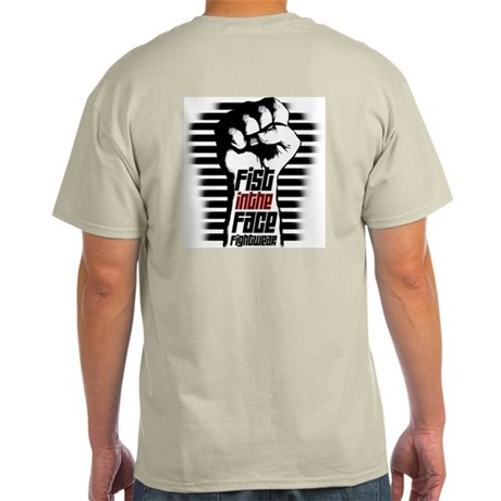 Fist in the Face FIGHTWEAR Ash Grey T-Shirt