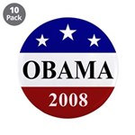 "Barack Obama 2008 Election 3.5"" Button (10 pa"