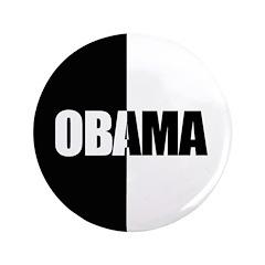 "Obama Racial Unity 3.5"" Button"
