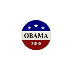 Barack Obama 2008 Election Mini Button (10 pack)