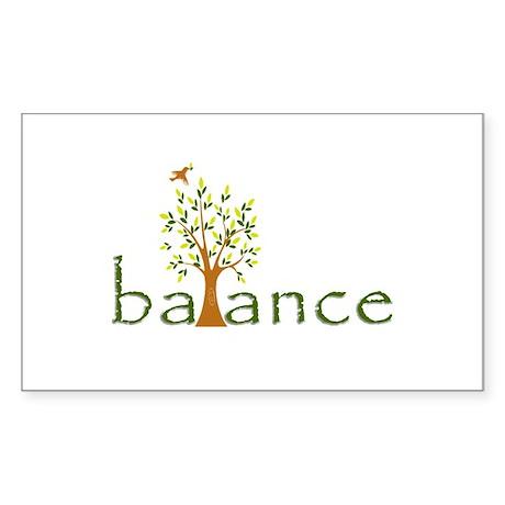Balance Sticker (Rectangle)