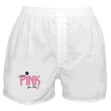 I Wear Pink For ME 14 Boxer Shorts