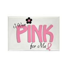 I Wear Pink For ME 14 Rectangle Magnet (10 pack)