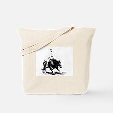 cutting horse Tote Bag