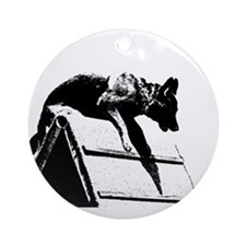 schutzhund obedience Ornament (Round)