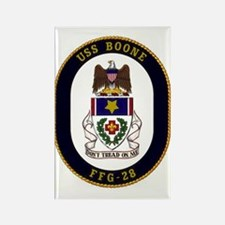 USS Boone FFG-28 Rectangle Magnet