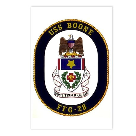 USS Boone FFG-28 Postcards (Package of 8)