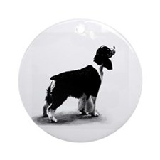 springer spaniel Ornament (Round)