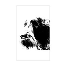 spinone Rectangle Decal