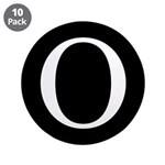 "O 3.5"" Button (10 pack)"
