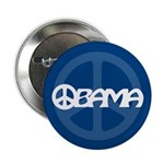 "Obama Peace 2.25"" Button"