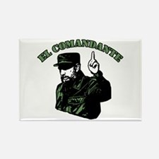 Fidel Castro Rectangle Magnet (10 pack)