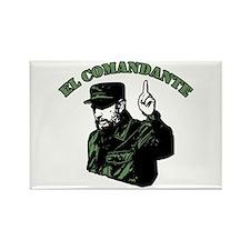 Fidel Castro Rectangle Magnet (100 pack)