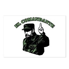 Fidel Castro Postcards (Package of 8)