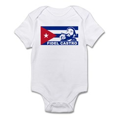 Fidel Castro Cuba Infant Bodysuit