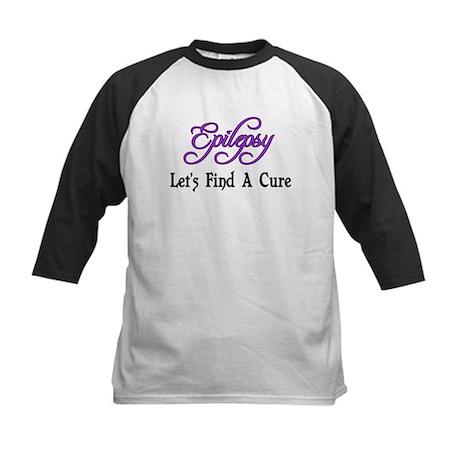 Epilepsy Let's Find Cure Kids Baseball Jersey