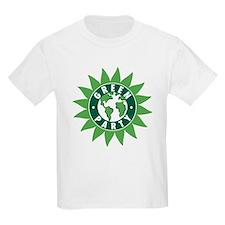 Green Party Logo (Sunflower/G Kids T-Shirt