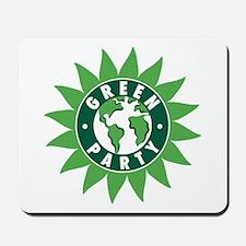 Green Party Logo (Sunflower/G Mousepad