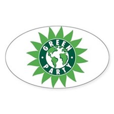 Green Party Logo (Sunflower/G Oval Decal