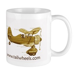 Tailwheels.com Old Biplane Mug