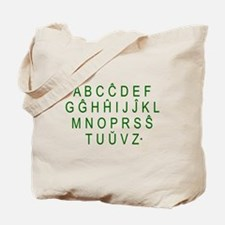 Unique Esperanto Tote Bag