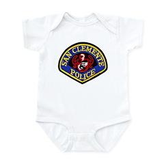 San Clemente Police Infant Bodysuit