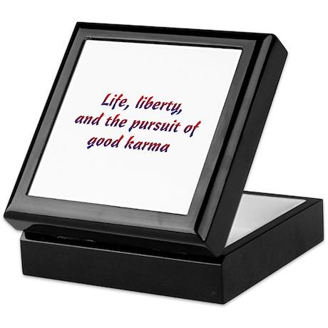 Pursuit Of Karma Keepsake Box