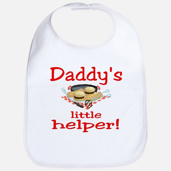Daddys little bbq Bib