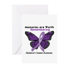 AD Memories Are Worth It Greeting Cards (Pk of 10)