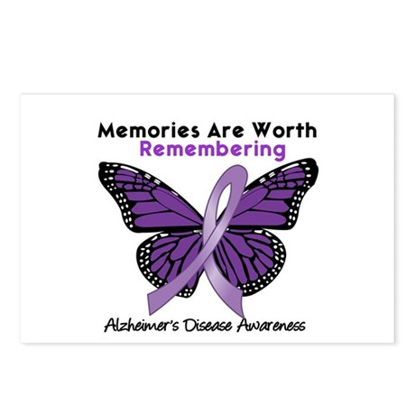 AD Memories Are Worth It Postcards (Package of 8)