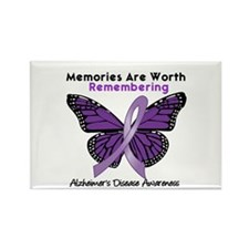 AD Memories Are Worth It Rectangle Magnet