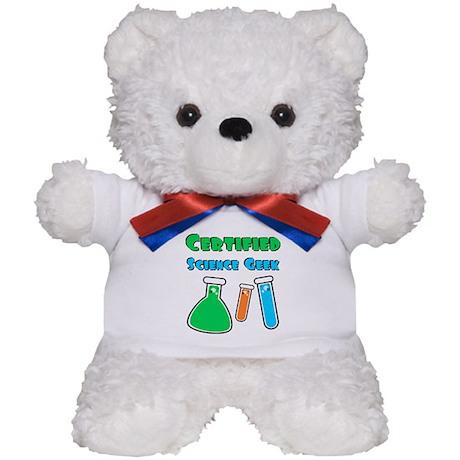 Certified Science Geek Teddy Bear