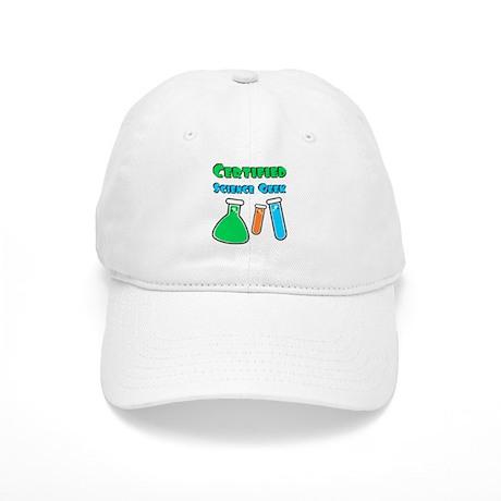 Certified Science Geek Cap