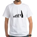 Windsurfer Evolution White T-Shirt