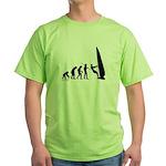 Windsurfer Evolution Green T-Shirt