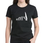 Windsurfer Evolution Women's Dark T-Shirt