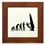 Windsurfer Evolution Framed Tile