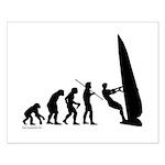 Windsurfer Evolution Small Poster