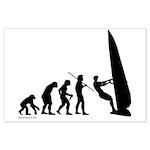 Windsurfer Evolution Large Poster