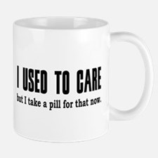 Used to Care Small Small Mug