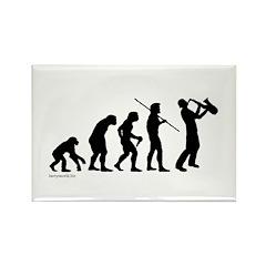 Sax Evolution Rectangle Magnet (100 pack)