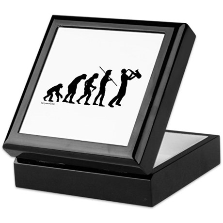 Sax Evolution Keepsake Box