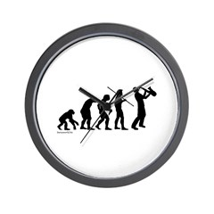 Sax Evolution Wall Clock