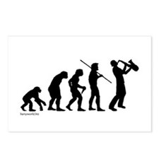 Sax Evolution Postcards (Package of 8)