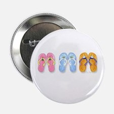 """3 Pairs of Flip-Flops 2.25"""" Button (10 pack)"""