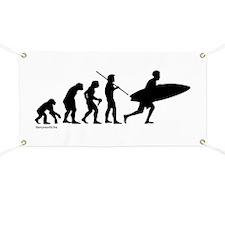 Surfer Evolution Banner